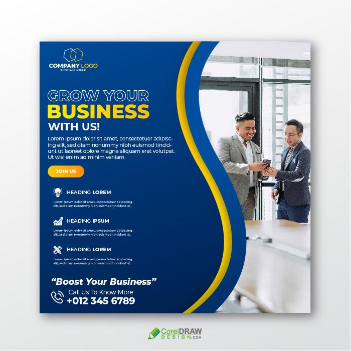 Corporate Digital Marketing Agency Company Flyer