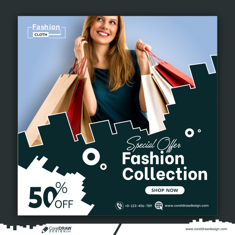 Fashion Collection Offer Banner Template Free Premium Vector