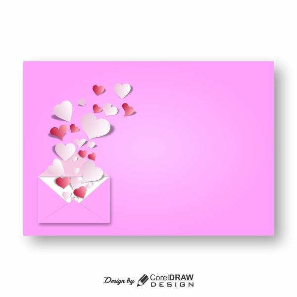 Download Heart Envelope Background Trending 2021 Download ...