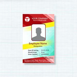 colorful-corporate-id-card-badge-design