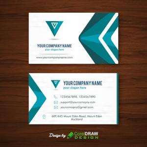 Modern Abstract Design Business Card