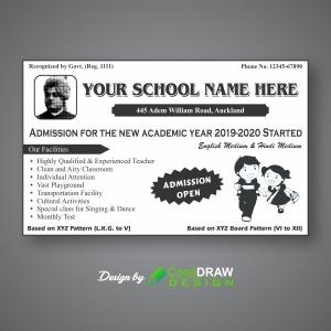 Simple Single Color School Handbill.jpg