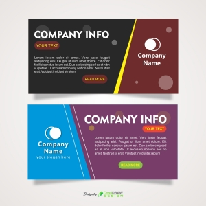Abstract Business Banner