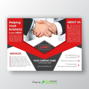 Corporate Horizontal Flyer Cover