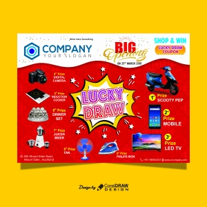 Lucky Draw Big Banner