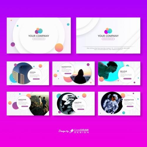 White Theme Multipage Company Brochure
