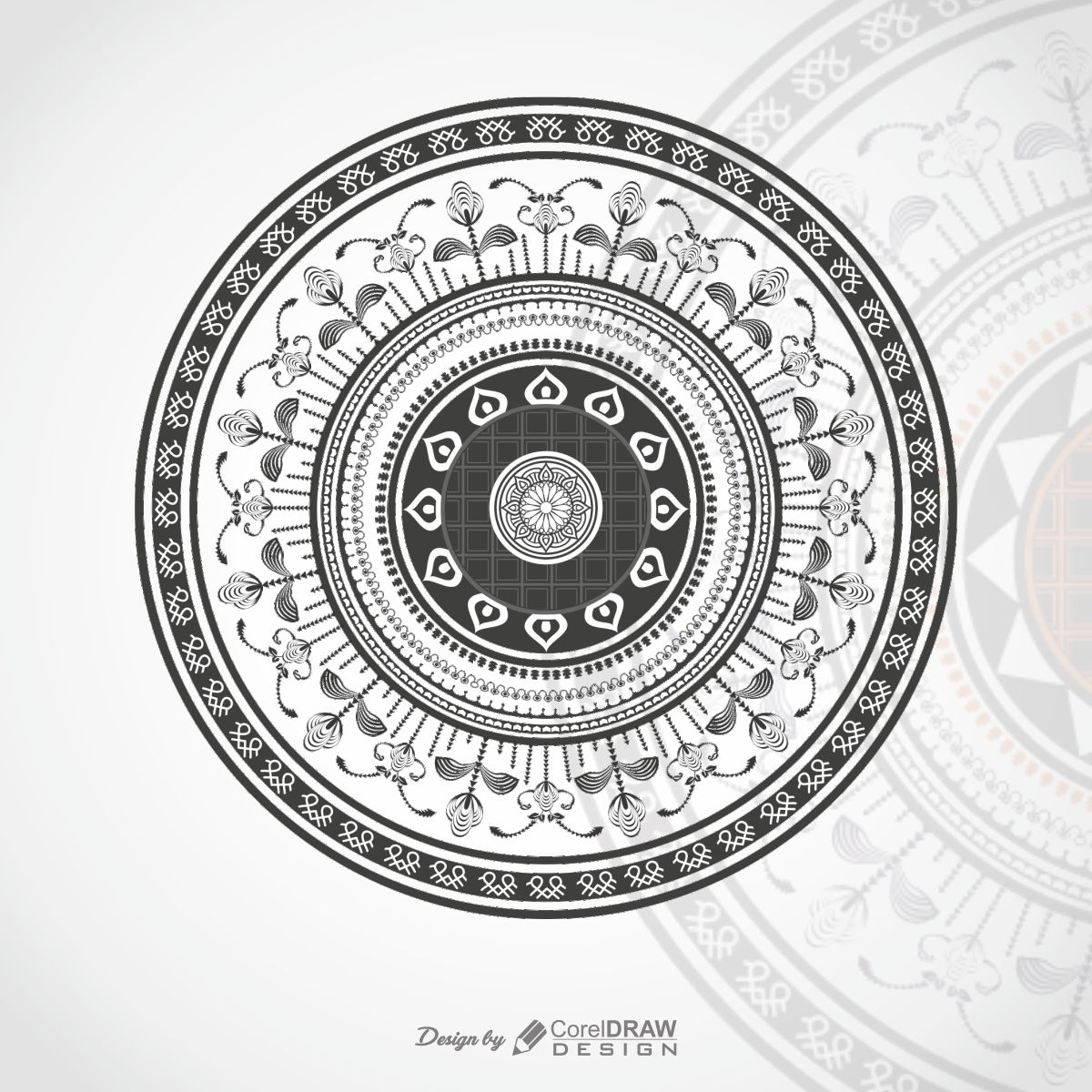 Luxury Style Mandala