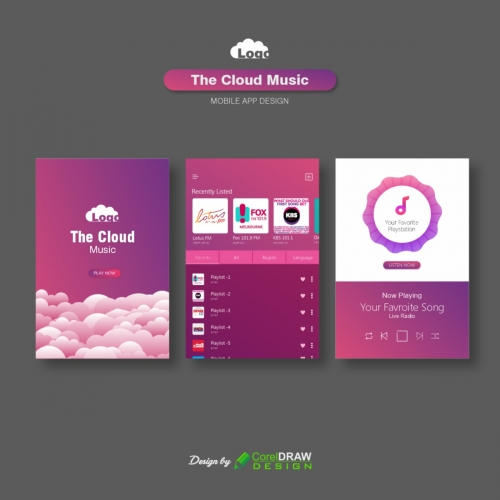 The Cloud Music Player User Interface