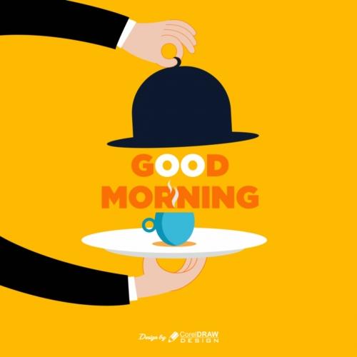 Creative Good Morning Wish Poster Design