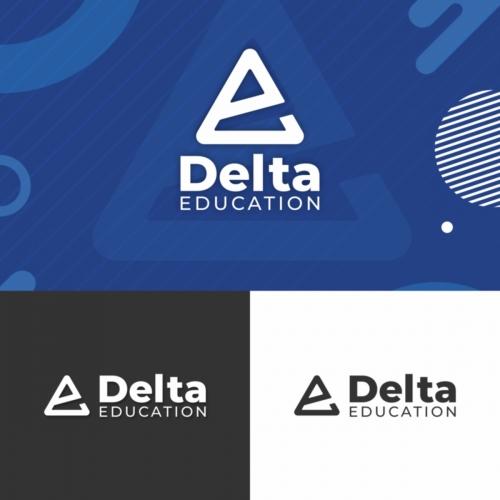 Delta Education Logo Template
