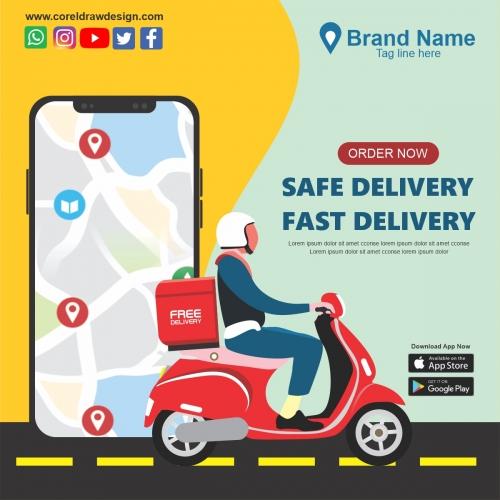Food Delivery App Promo