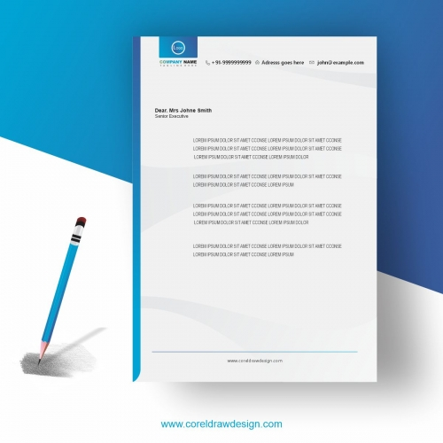 Creative business letter Head