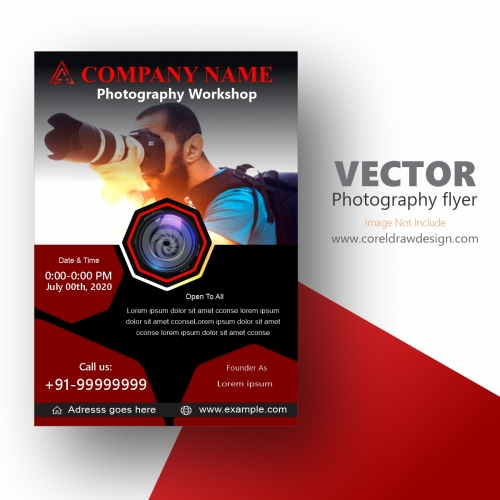 VECTOR Photography flyer