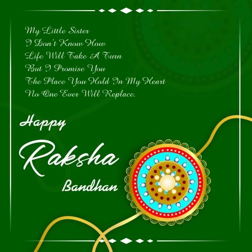 Rakhi design for happy raksha bandhan background