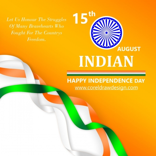 Creative Indian Independence Day Vector