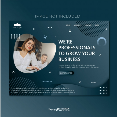 Co-operate Landing Page Template