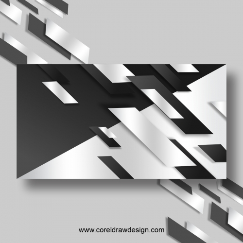 Realistic Flowing Glossy White & Grey Background Free Vector