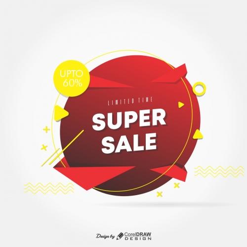 Super Sale Badge Limited offer