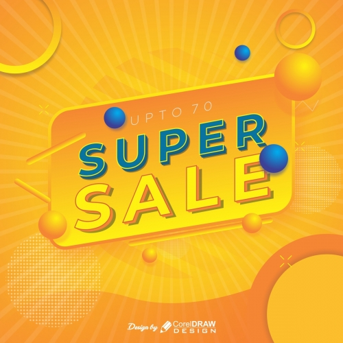 Super Sale Poster for Instagram free Template