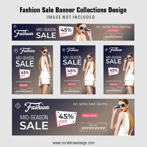 Fashion Sale Banner Collections Design
