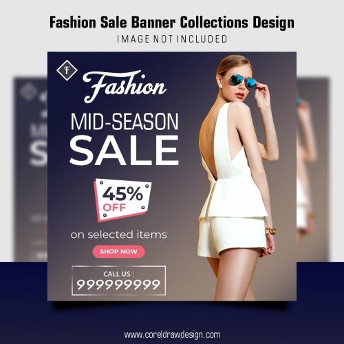Fashion Sale Template Design