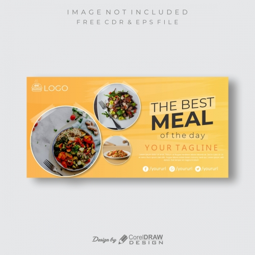 Meal of the Day Food Banner