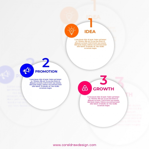 Infographic Banners Labels Designs