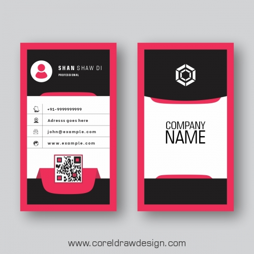 Creative Business Card Vector Premium Design