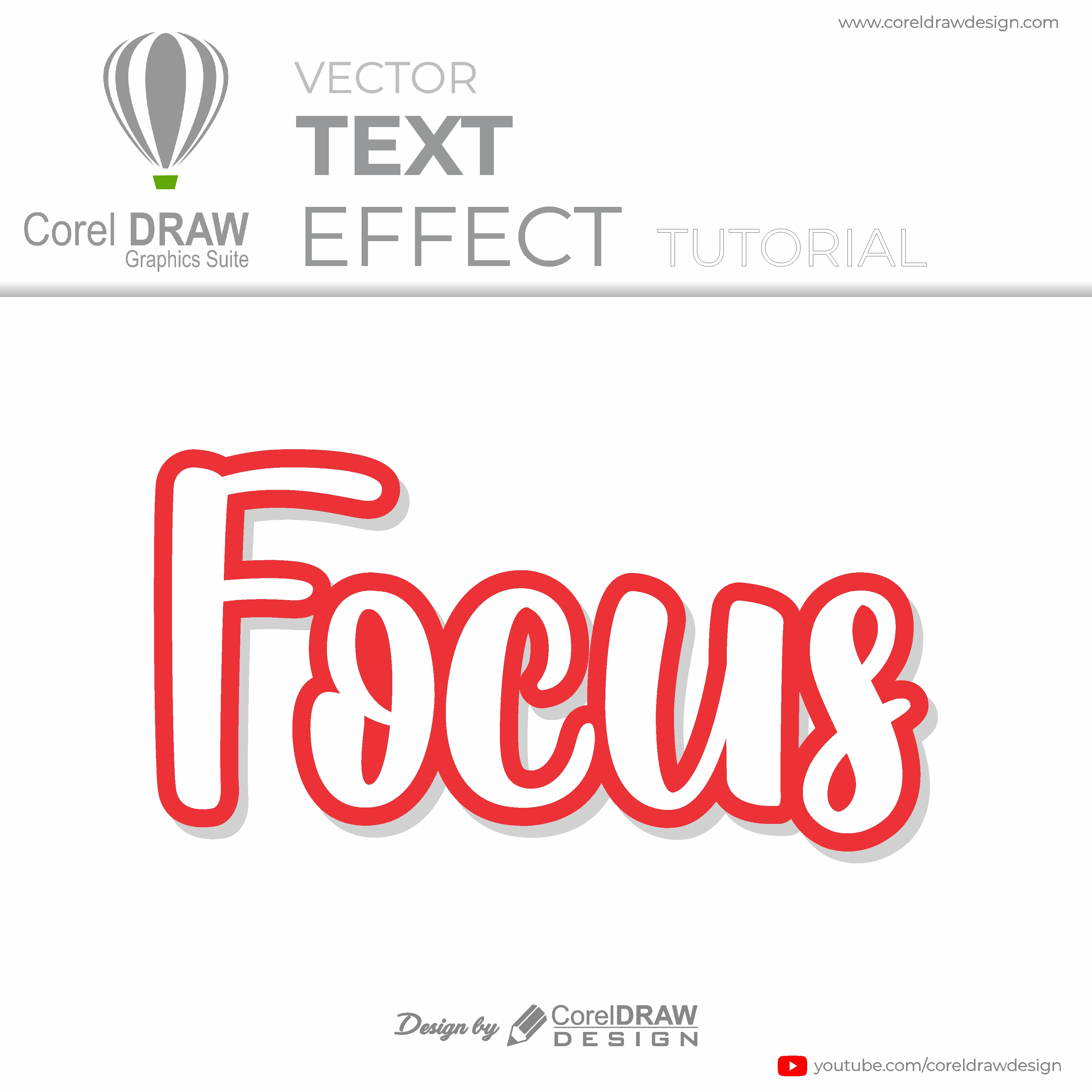 Coreldraw How to use contour tool easily and creatively Digital Graphics Tutorial Coreldraw