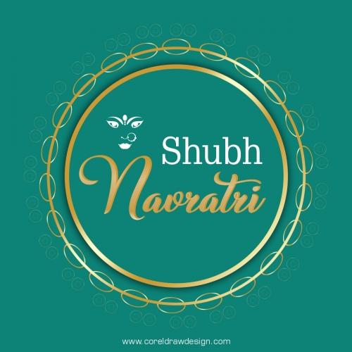 Realistic Traditional Navratri Background Design