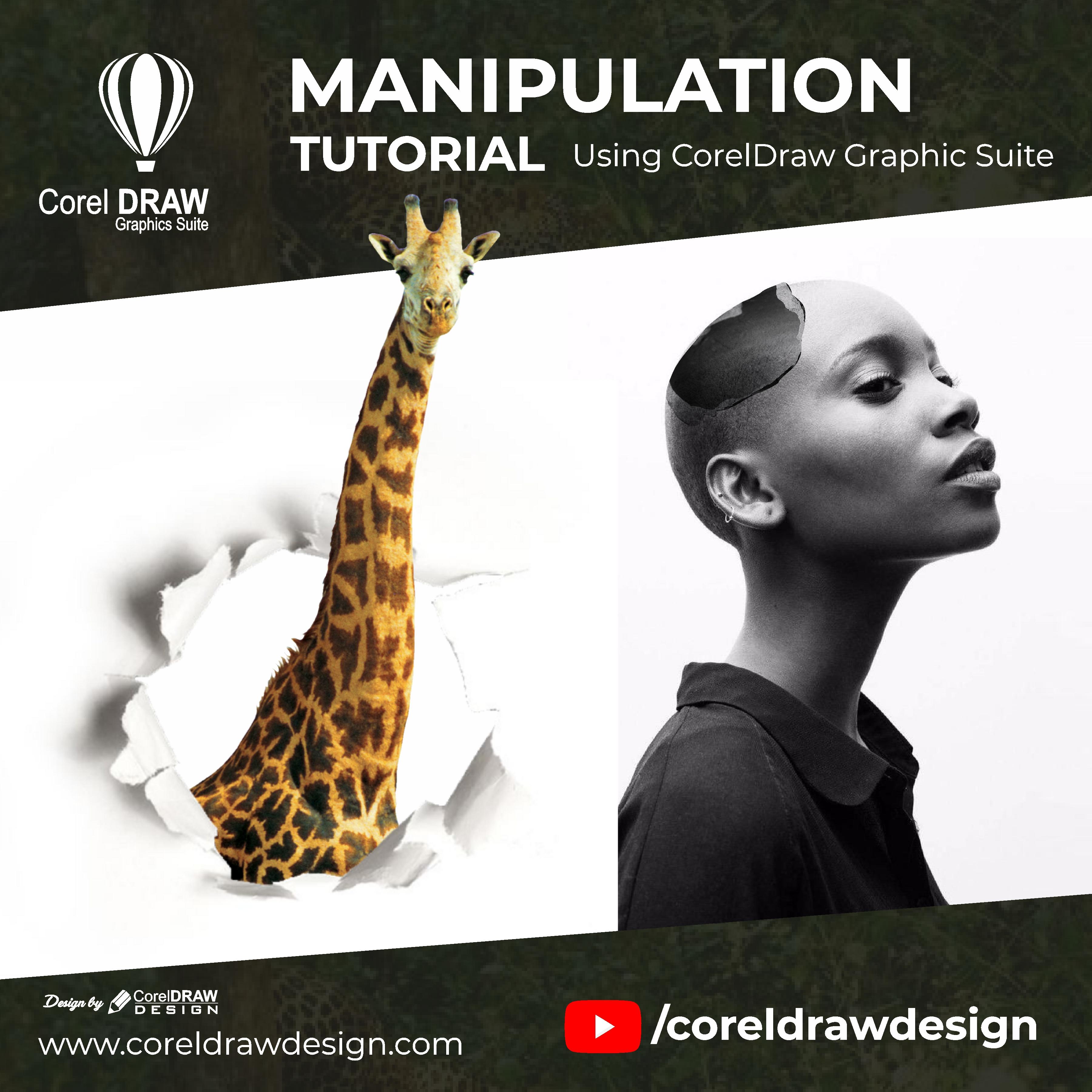Coreldraw Photo manipulation Digital Graphics Tutorial Coreldraw for Beginners