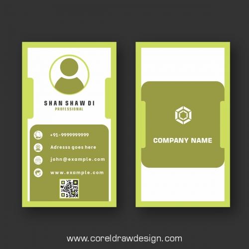 Creative Business Card Design Premium Vector