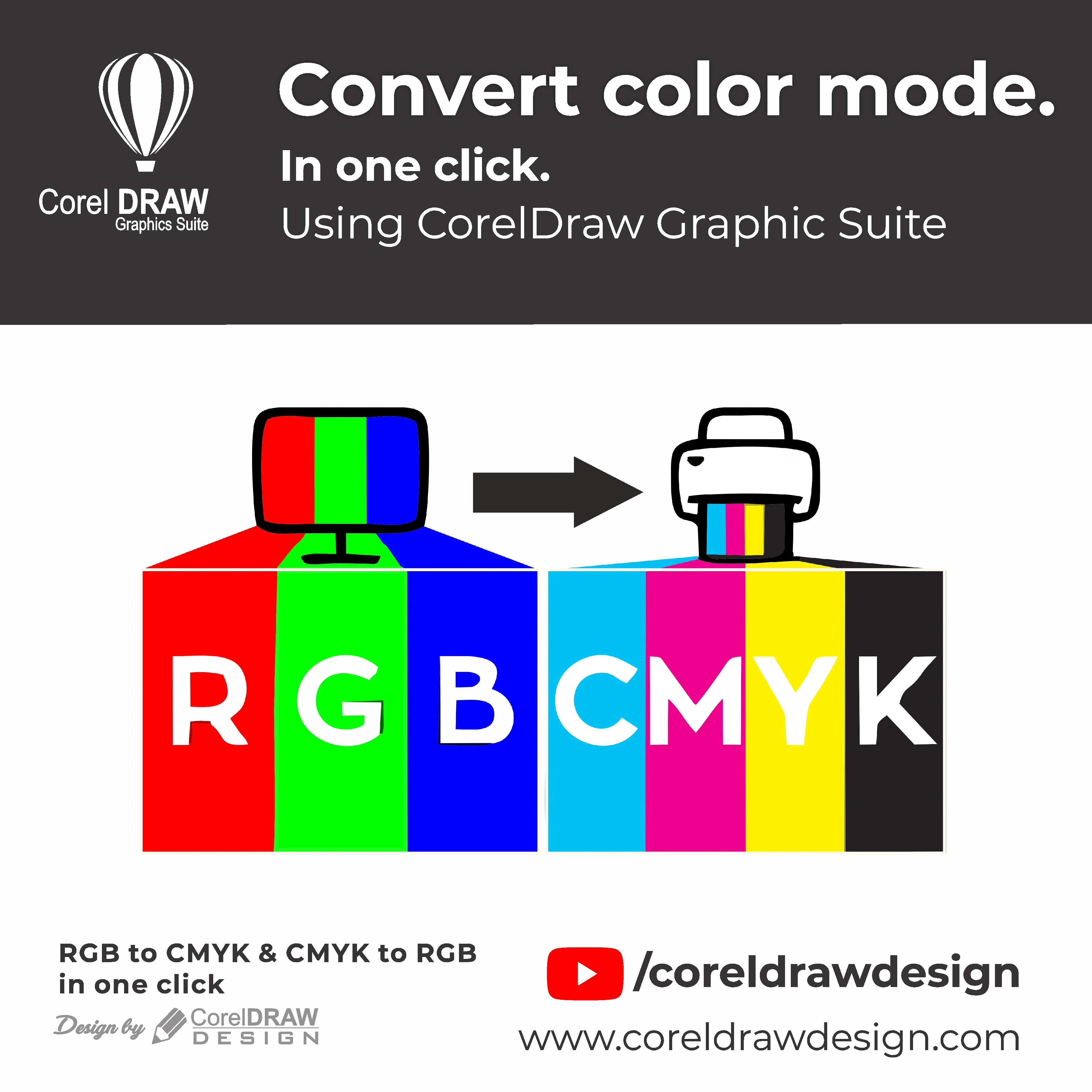 Replace color in One-click Digital Graphics Tutorial Coreldraw for Beginners 1 1