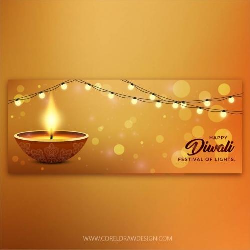 Royal Premium Diwali Banner Template