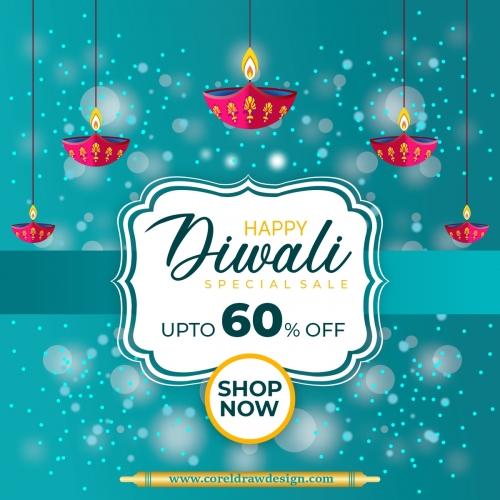 Diwali Sales Banner Design Free Premium Vector