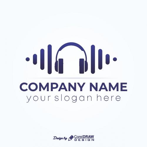 Headphone Musical Logo