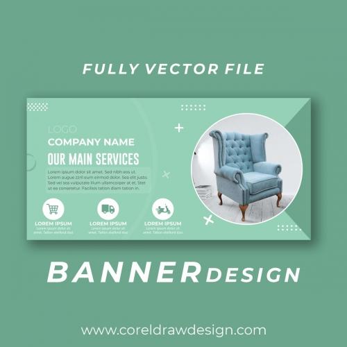 Furniture Banner Vector Design Free Design