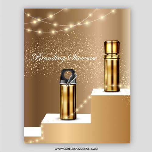 Premium Golden Branding Showcase