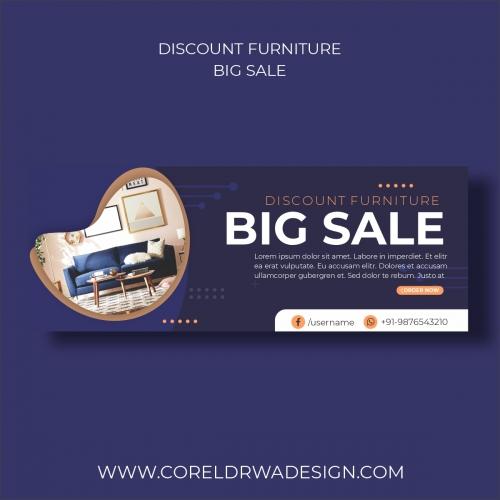 Discount Furniture Big sale Banner