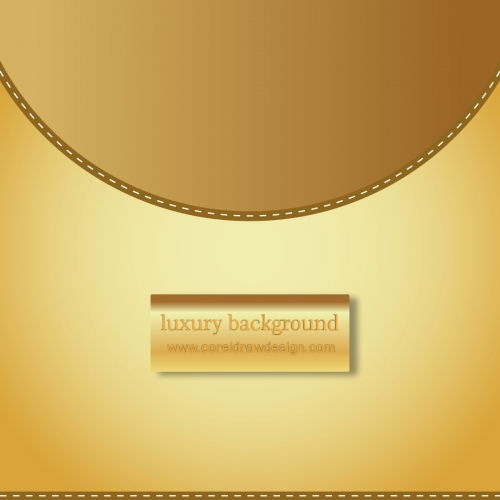 Luxury Background Golden Colour Free Vector
