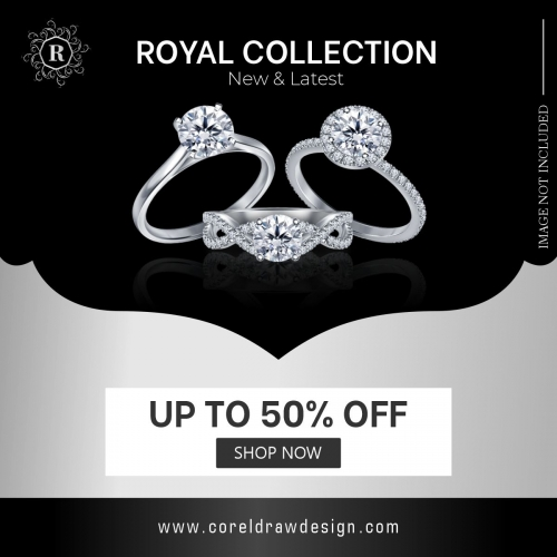 Ring Collection Template Design