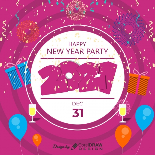 New year party CDR template V2