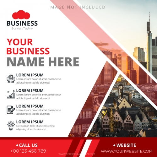 Corporate Promotional Business Banner Template
