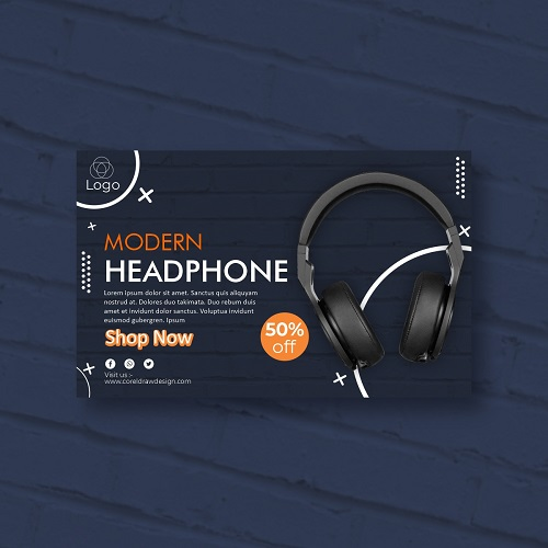Headphone market sale discount off Original CDR file download