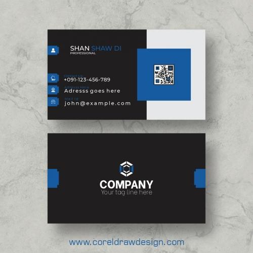 Professional Business Card Free Premium Vector