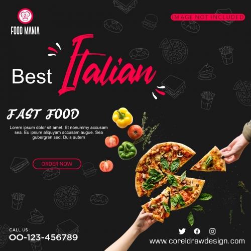 Best Italian Fast Food Template Design