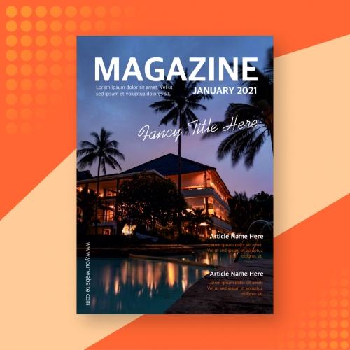 Hospitality Magazine Cover Design