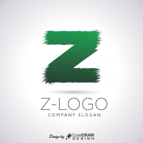 Modern letter z logo collection Premium Vector