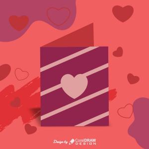 Love Card Valentine Card Poster Trending 2021 Download CDR File
