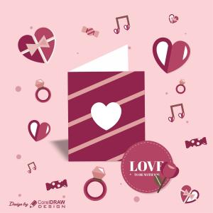 Valentine Particles Trending 2021 Download CDR File